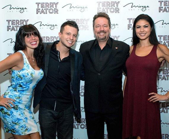 Mat Franco, Terry Fator and Taylor Makakoa