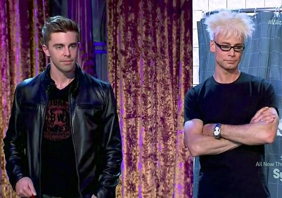 Rob Anderson and Murray SawChuck on SYFY's Wizard Wars