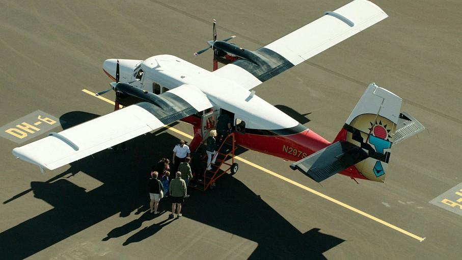 Grand Canyon Scenic Airlines Reopens