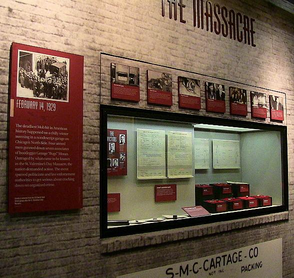 The Mob Museum Partners with Chicago History Museum, Chicago 00 Project to Recognize 90th Anniversary of St. Valentine's Day Massacre Feb. 14