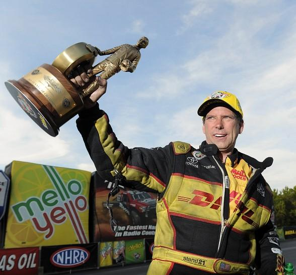 Funny Car Veteran Del Worsham Hopes to Shine with Championship Still Up for Grabs at NHRA Toyota Nationals in Las Vegas