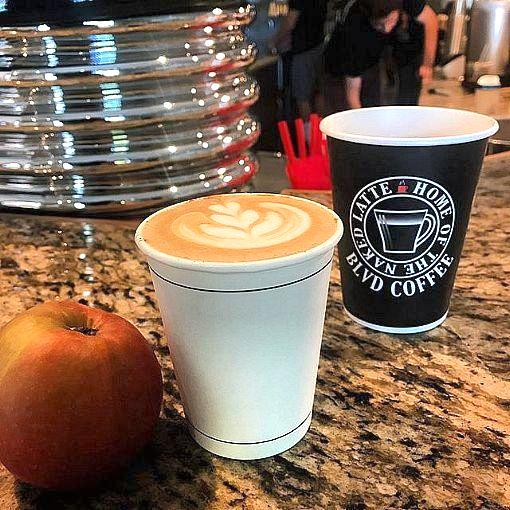 BLVD Coffee Reopens This Week and Offers Free Coffee to All Frontline Workers Through May