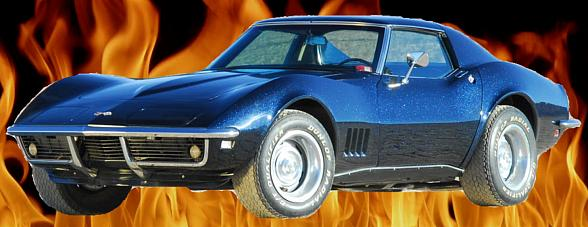 """'Slay Cancer with Dragons' in a '68 Stingray l79 Corvette; Reality Show """"Angel's Garage"""" to Raffle Car to Benefit Tyler Robinson Foundation"""