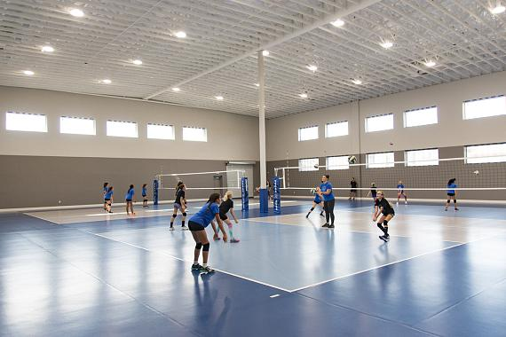 """""""Vegas Aces"""" Debut the City's First Training Center"""
