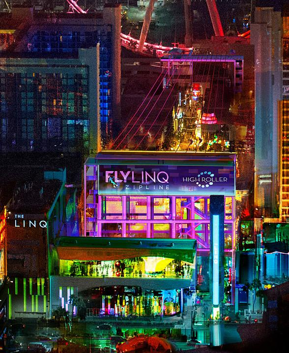 Fly LINQ, the Las Vegas Strip's First, Only Zipline, to Open on Nov. 9