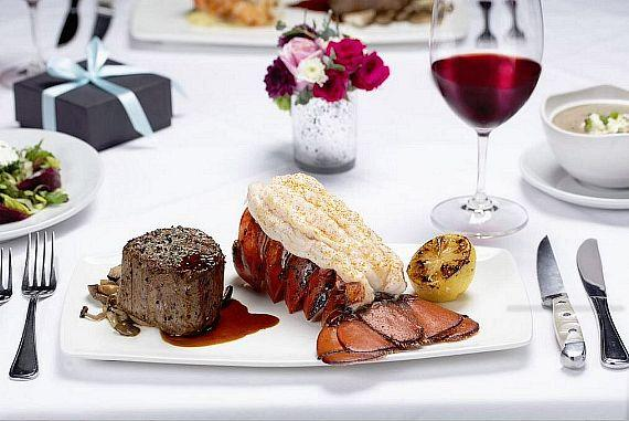 Fleming's is offering a three-course, prix-fixe Valentine's Day menu