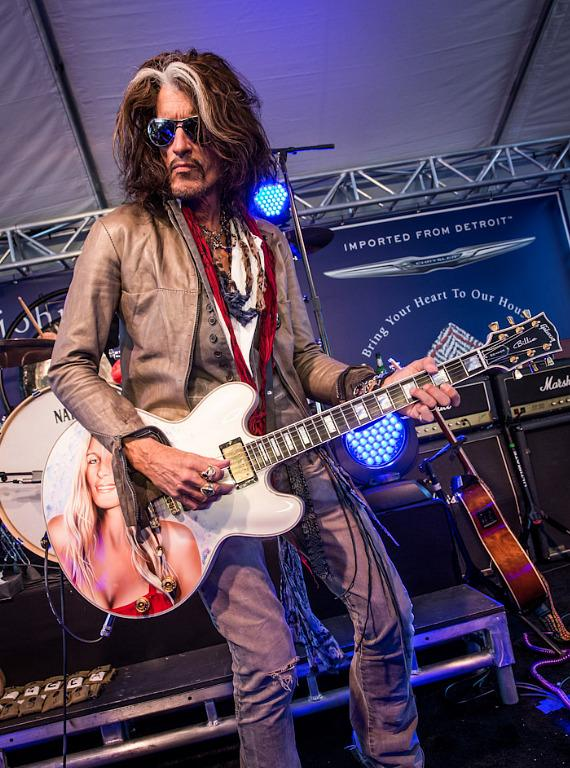 Steven Tyler and Joe Perry Perform at The John Varvatos 10th Annual Stuart House Benefit