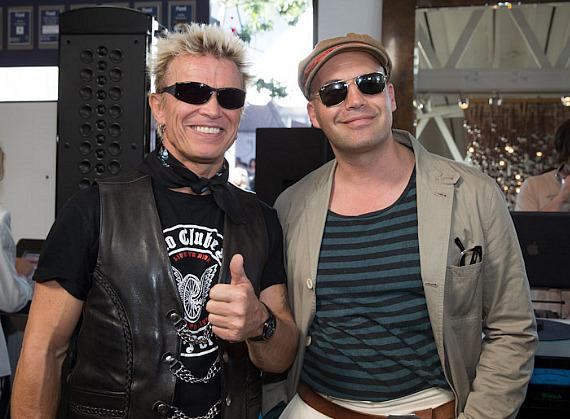 Billy Idol and Billy Zane