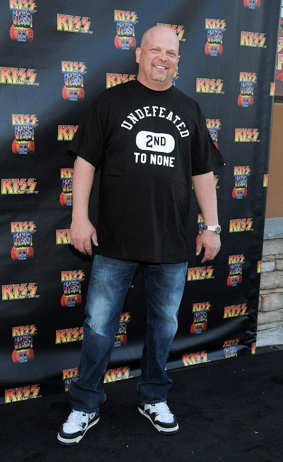 Pawn Star Rick Harrison at KISS by Monster Mini Golf Grand Opening in Las Vegas
