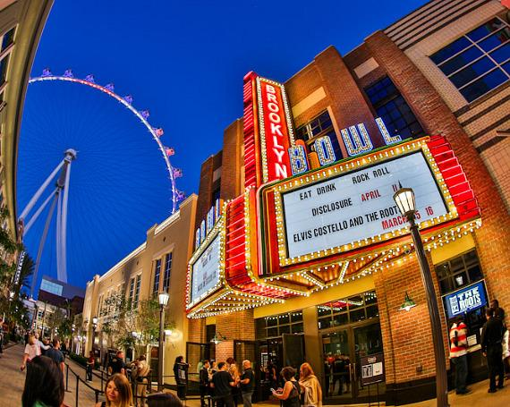The Brooklyn Bowl Las Vegas at The LINQ