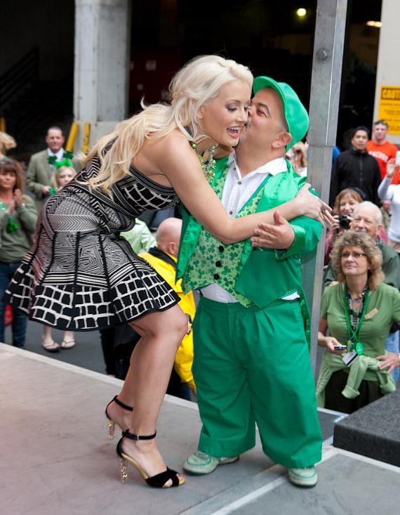 Holly Madison and Brian