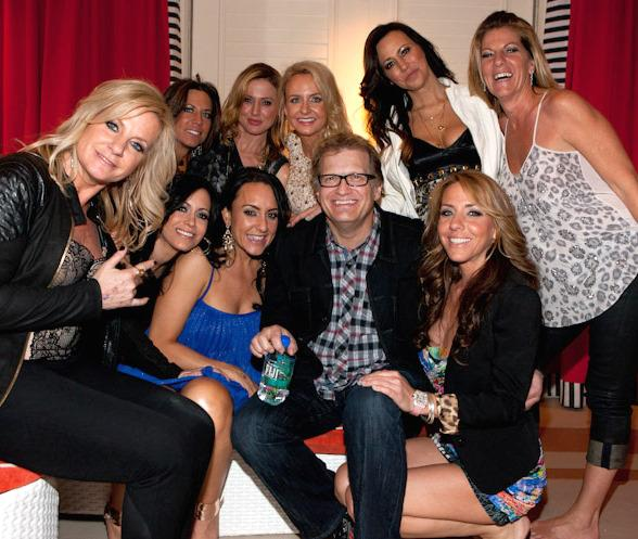 Drew Carey Parties at Surrender Nightclub