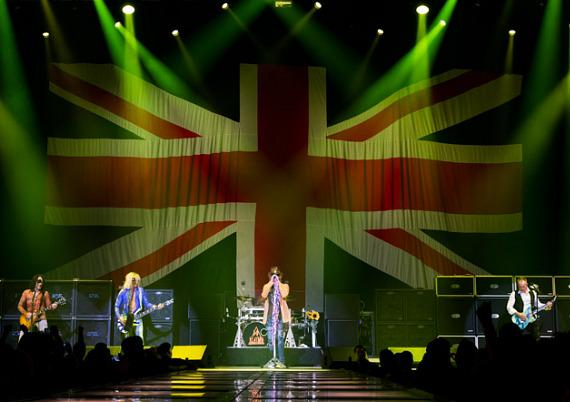 Def Leppard Opening Night of VIVA Hysteria! at The Joint