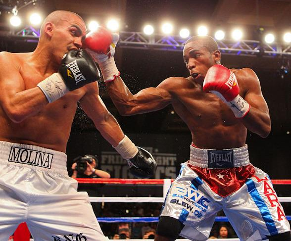 Carlos Molina vs. Erislandy Lara at Chelsea Ballroom in The Cosmopolitan of Las Vegas