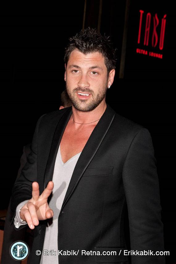 Maksim Chmerlovskiy from Dancing With The Stars at Tabú Ultra Lounge