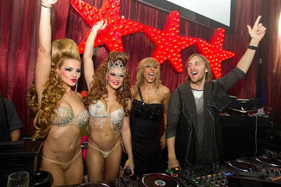 International award winning DJ David Guetta and his wife Cathy bring their 'F*** Me I'm Famous' party from Ibiza to Las Vegas and premiere it at LAX Nightclub