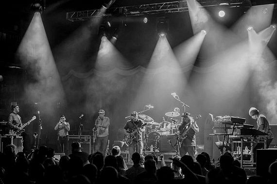 Funk Band Lettuce Performs at Brooklyn Bowl at The LINQ in Las Vegas