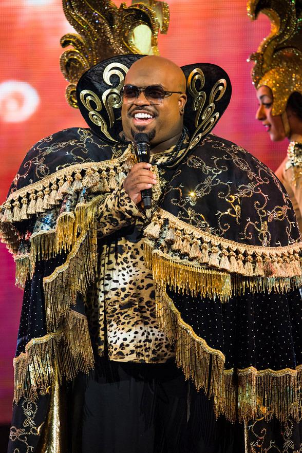 CeeLo Green on opening night at Planet Hollywood in Las Vegas