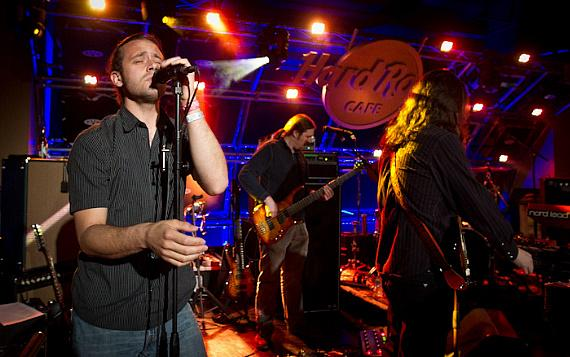 Moksha Opens for The Mickey Hart Band at Hard Rock Cafe on The Strip