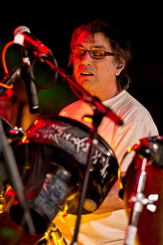 The Mickey Hart Band performs at Hard Rock Cafe on the Strip