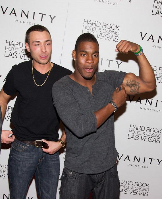 Cast members of MTV's The Real World: Las Vegas at Vanity Nightclub