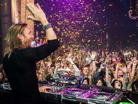 David Guetta headlines XS nightclub 4 year anniversary party