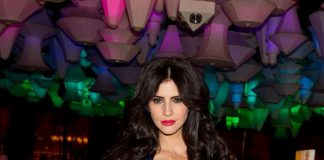 "Hope Dworaczyk, 2010 Playmate of the Year at ""The Celebrity Apprentice"" Viewing Party at Blush"