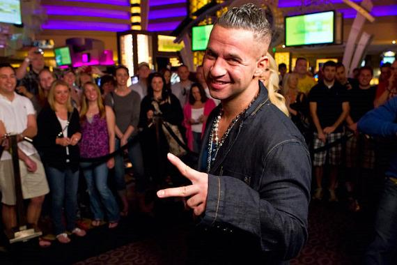 Mike 'The Situation' at Planet Hollywood