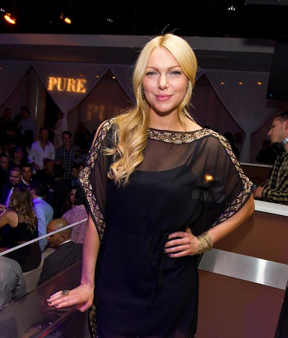 Laura Prepon inside PURE Nightclub