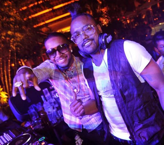 Apl.de.ap of the Black Eyed Peas and Omarion