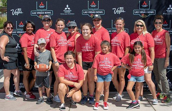 Las Vegas Bowl, The Huddle - Making a Difference Day