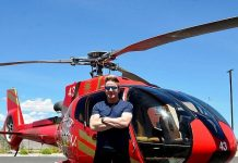 Gordon Ramsay Visits Papillon Grand Canyon Helicopters and Exotics Racing in Las Vegas