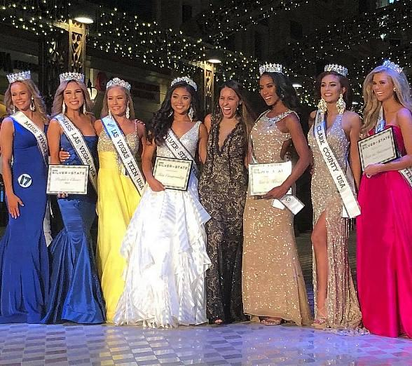 Results of the Miss Silver State Pageant Recently Held at Tivoli Village in Las Vegas