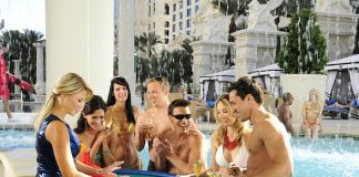 """Caesars Palace to Debut Eight Stunning New Pool Experiences in """"Garden of The Gods"""" March 19"""