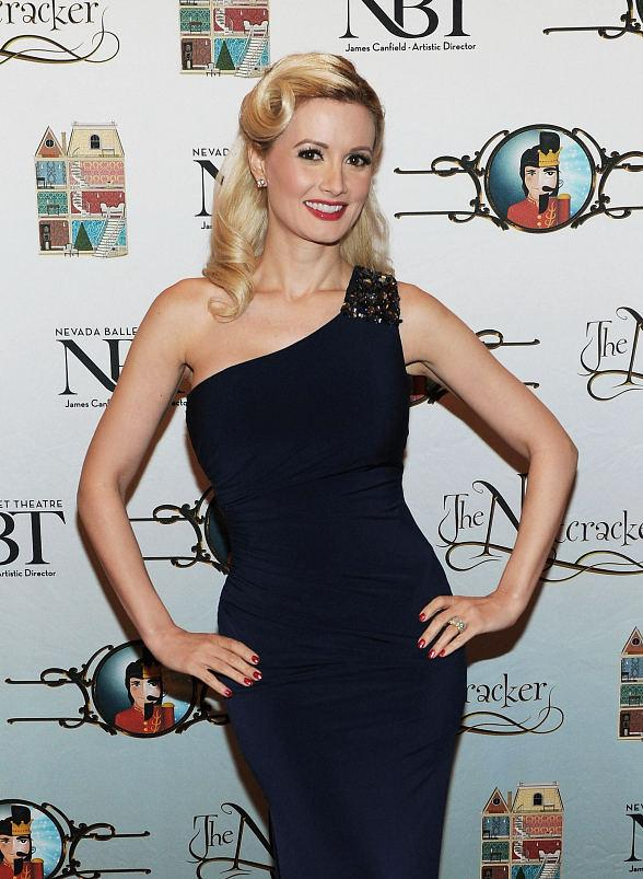 "Holly Madison attends Opening Night of Nevada Ballet Theatre's ""The Nutcracker"" at The Smith Center"