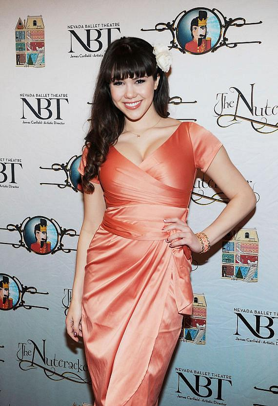 """PIN UP star Claire Sinclair attends Opening Night of Nevada Ballet Theatre's """"The Nutcracker"""" at The Smith Center"""