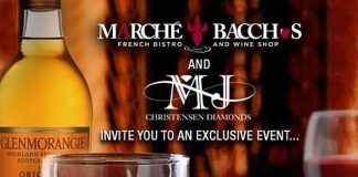 Marche Bacchus at Lakeside Event Center to Host Special Dinner to Benefit St. Jude's Children's Research Hospital