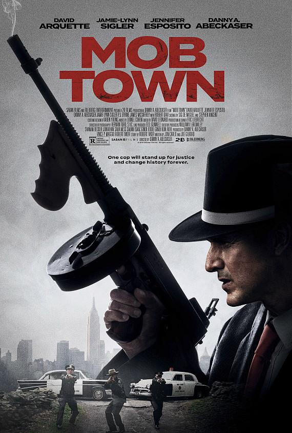 """Mob Town movie poster"