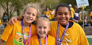 Girls on the Run's Gingerbread (Wo)man 5K in Las Vegas