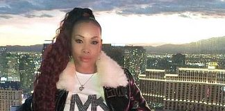 Actress Vivica A. Fox Rides High Roller at The LINQ Promenade in Las Vegas