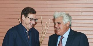 Bob Saget and Jay Leno
