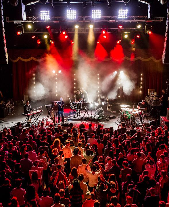 Bonobo Performs at Brooklyn Bowl Las Vegas at The LINQ in Las Vegas
