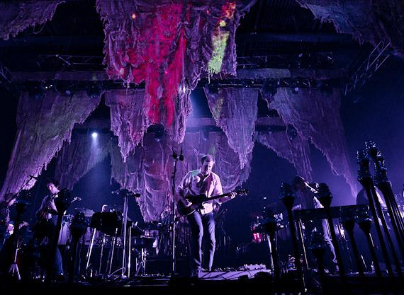 Bon Iver performs at The Joint in Hard Rock Hotel & Casino in Las Vegas