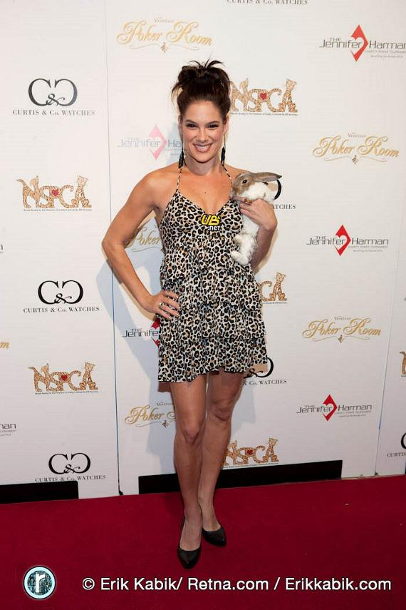 Poker player and actress Tiffany Michelle
