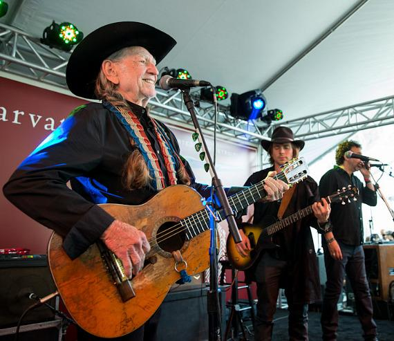 Willie Nelson & Sons perform at The John Varvatos 11th Annual Stuart House Benefit at John Varvatos in Hollywood