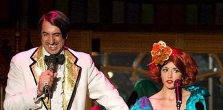 The Gazillionaire and Penny Pibbets, stars of the smash-hit show Absinthe