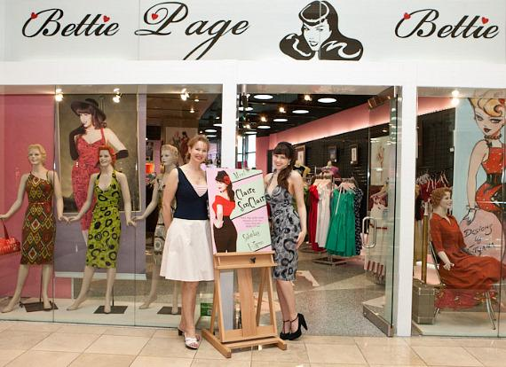 The new Bettie Page Clothing store at The Forum Shops in Caesars Palace