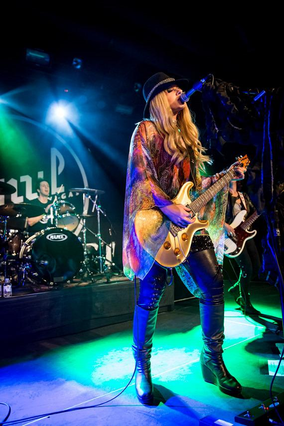 Orianthi Performs at Vinyl Las Vegas at Hard Rock Hotel & Casino