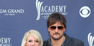 Eric Church and his wife Katherine