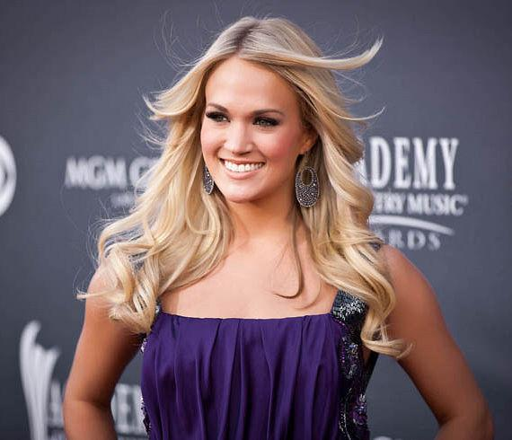 Carrie Underwood arrives at The ACM's ( Academy of Country Music Awards) at MGM Grand